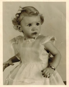 Mooooomie as a little girl. I was obsessed with this photo growing up, she looked just like a doll!